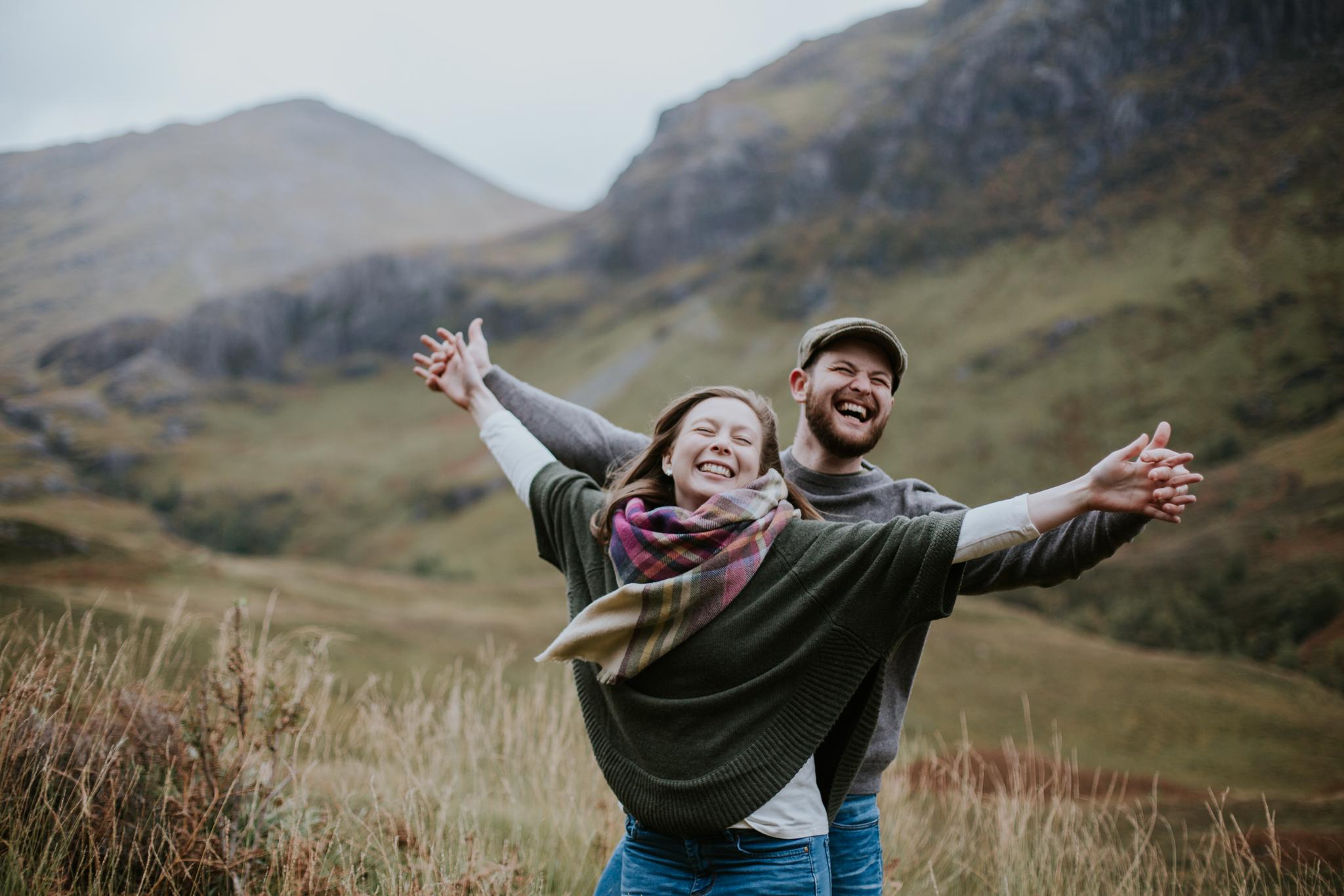 The best Scottish elopement and wedding photographer in Glencoe