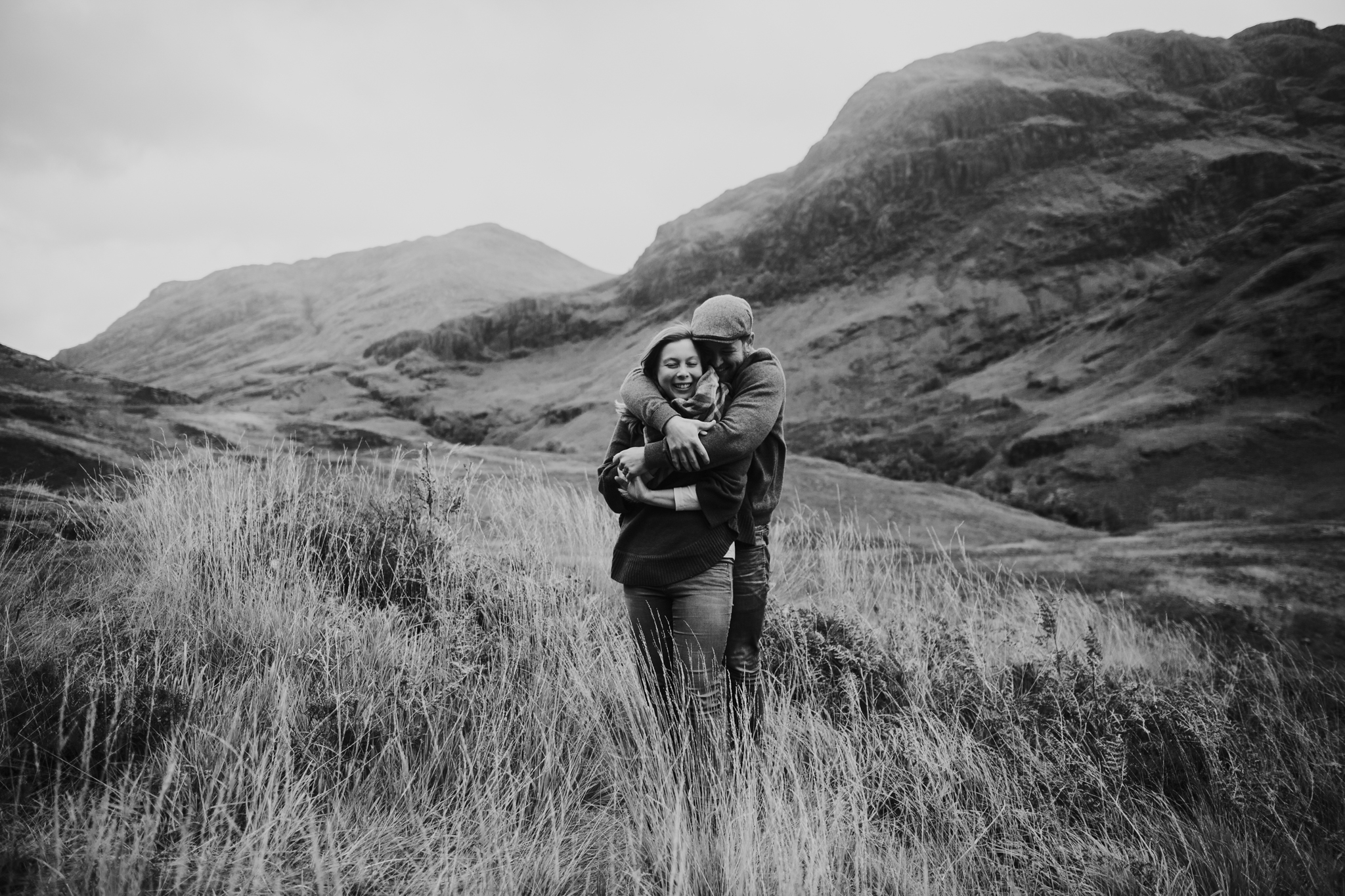 An intimate wedding anniversary elopement in the Scottish Glencoe