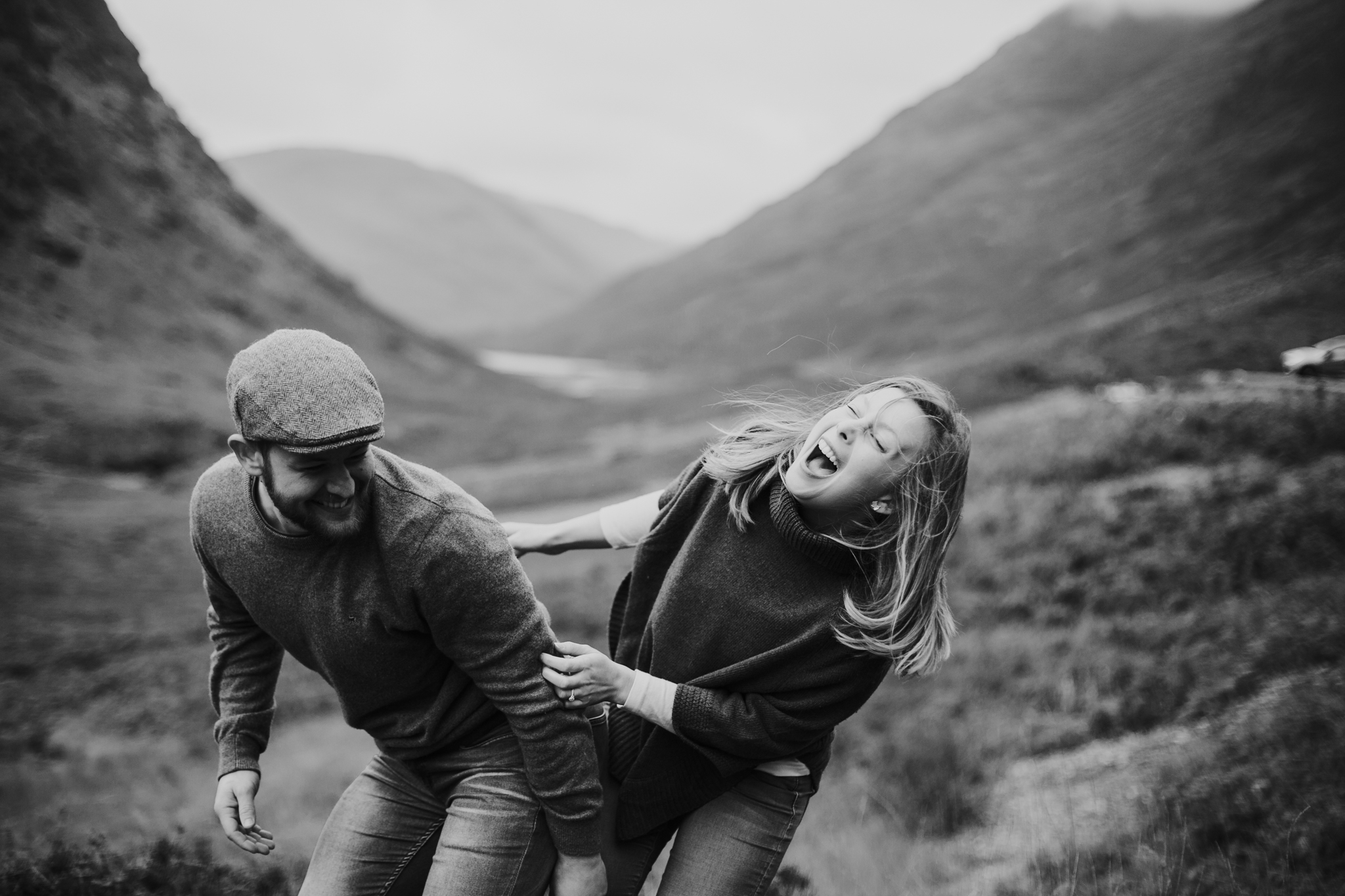 Fun and relaxed wedding and elopement photographer in Scotland