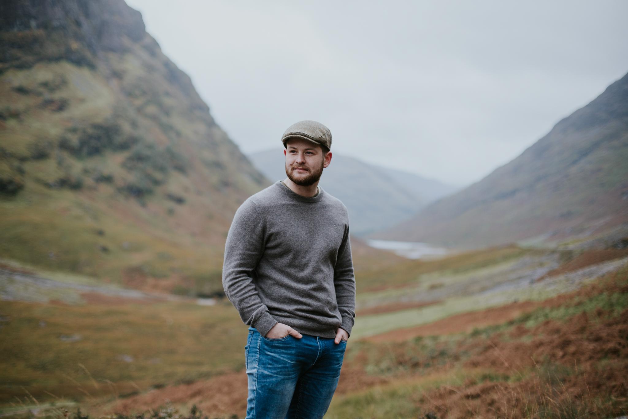 Male portrait photographer