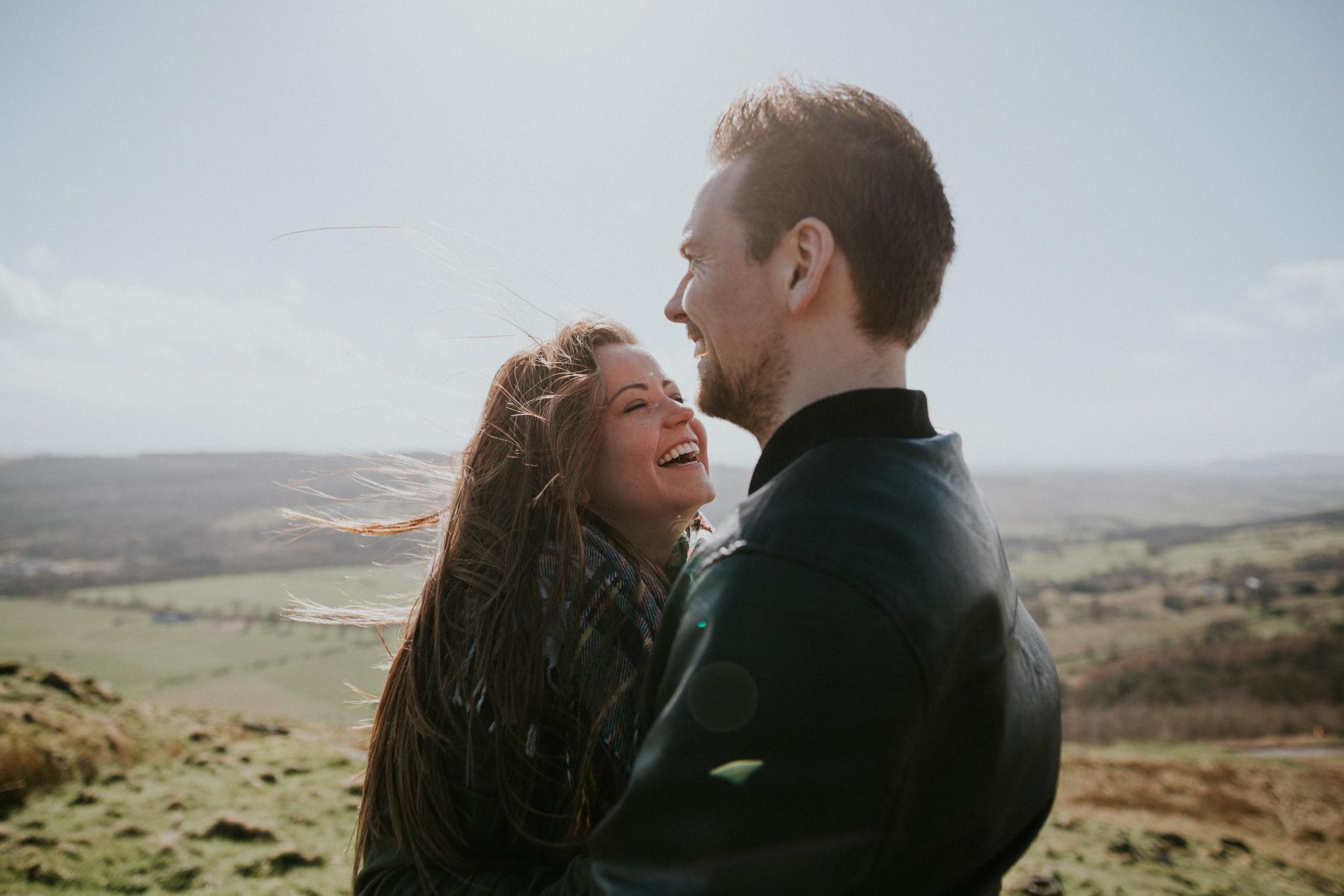 Alternative wedding photographer in Scotland