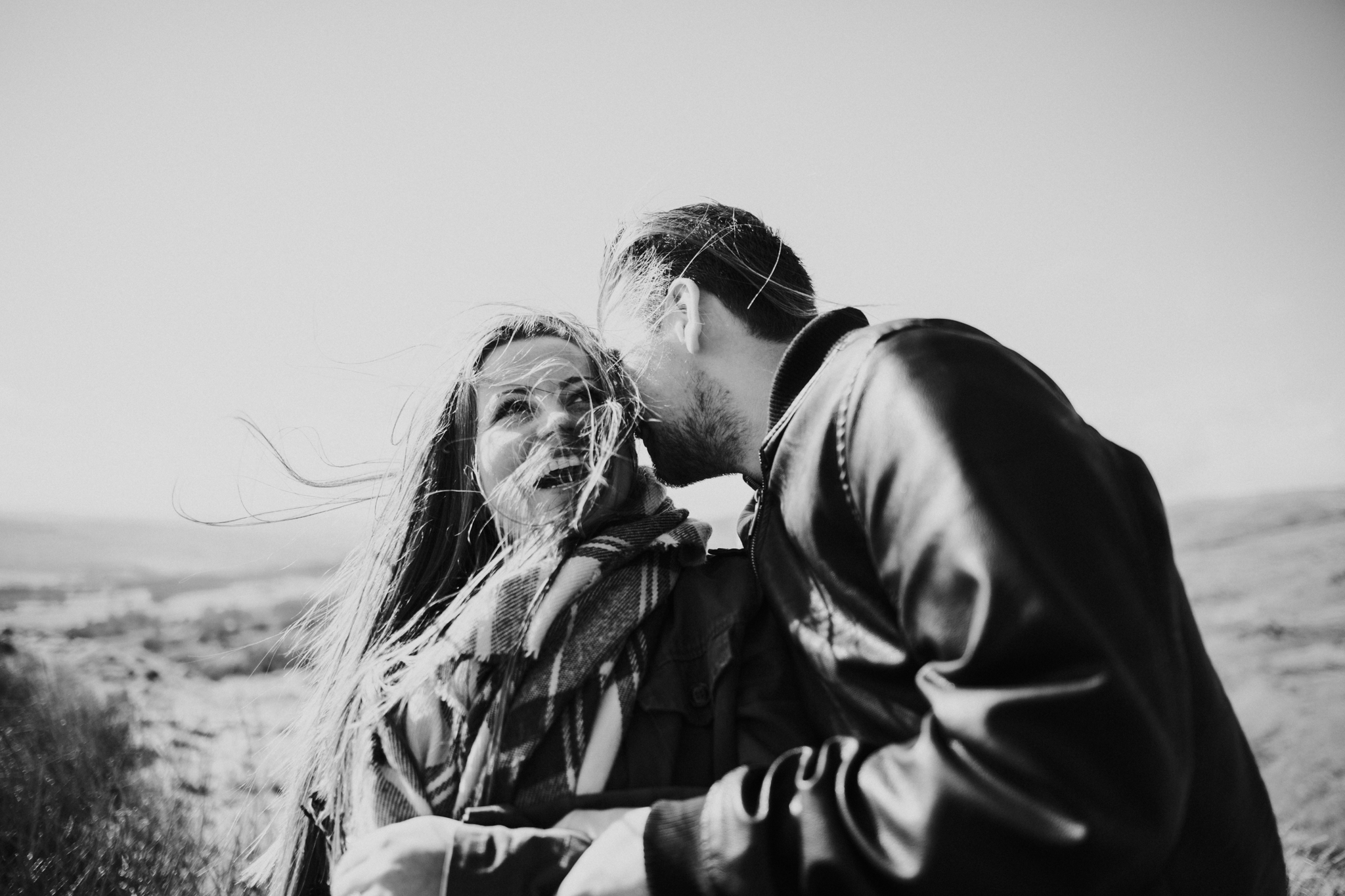 Creative documentary wedding and engagement photography Scotland