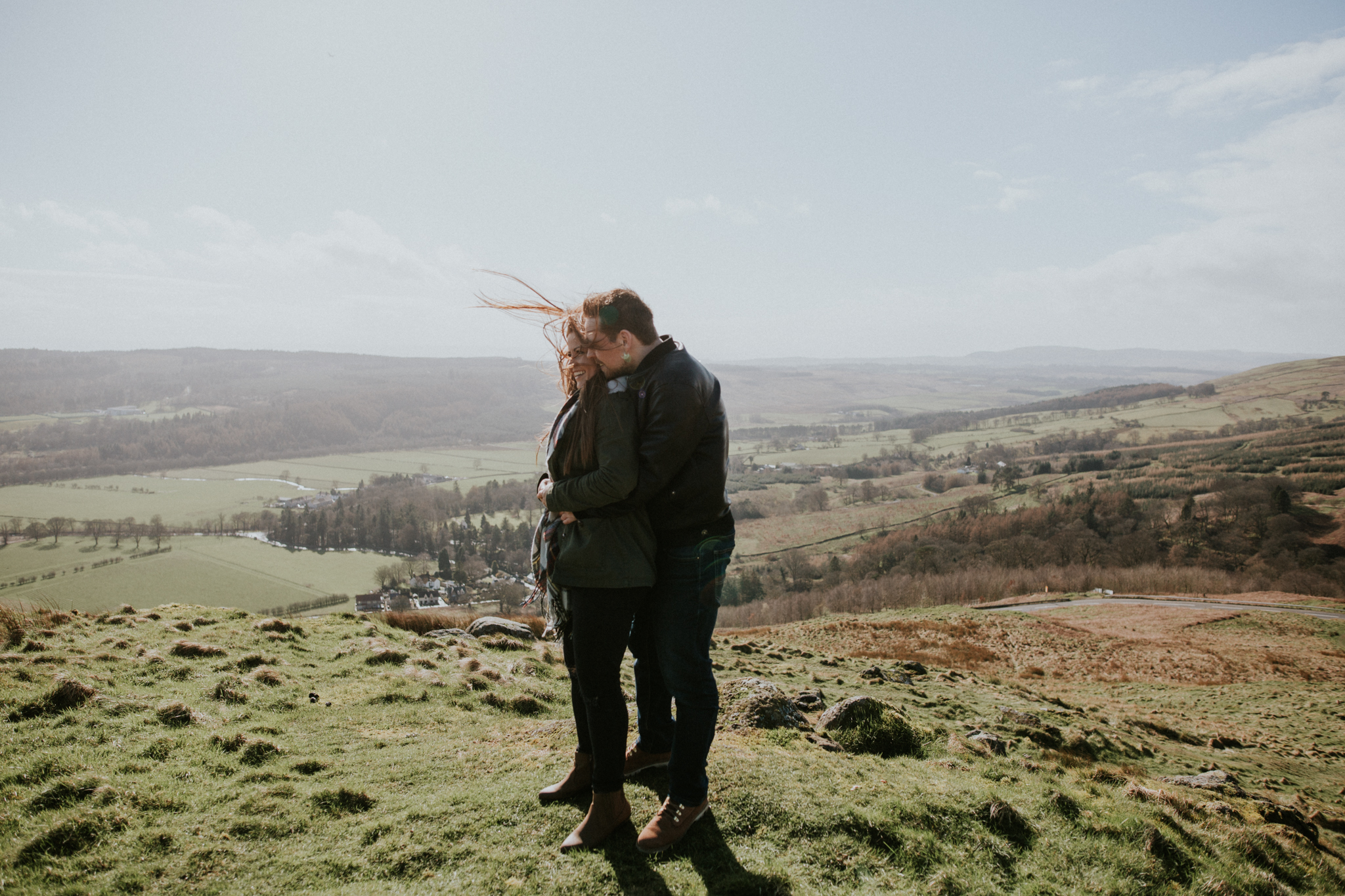 Creative wedding and engagement photographer with the cinematic and natural style