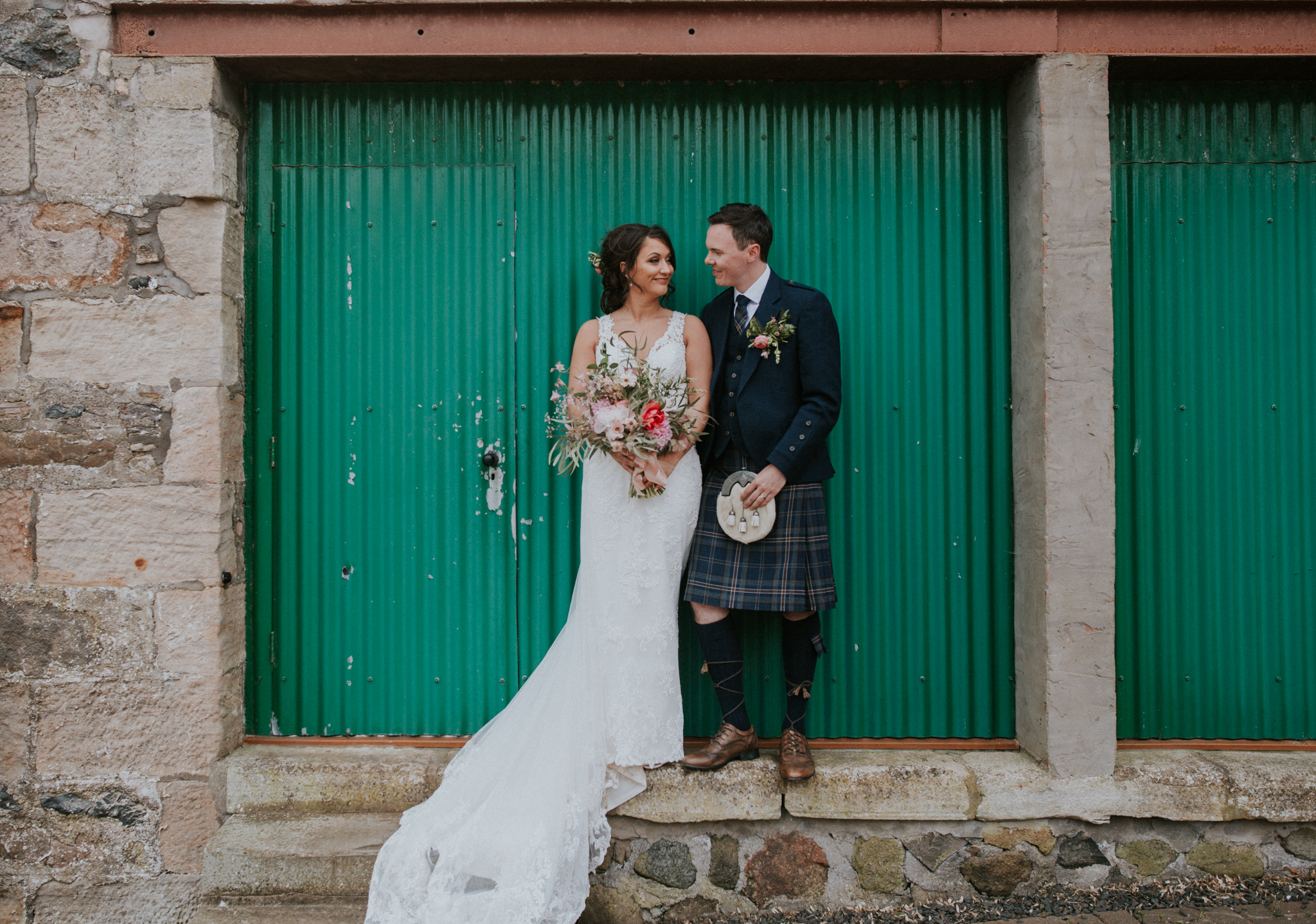 Creative wedding photographer in Glasgow, Scotland