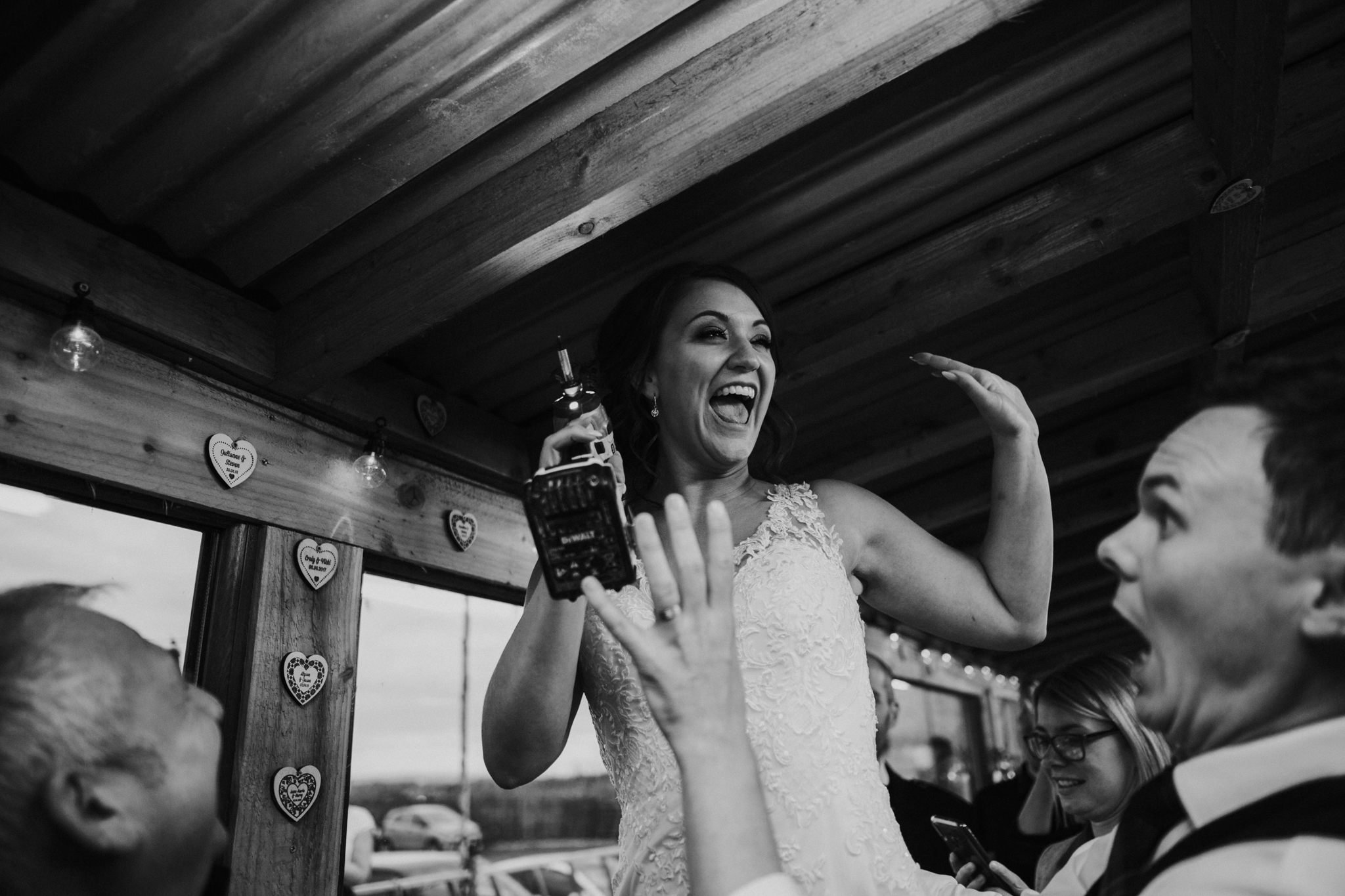 A relaxed and fun Harelaw farm wedding in Ayrshire, Scotland