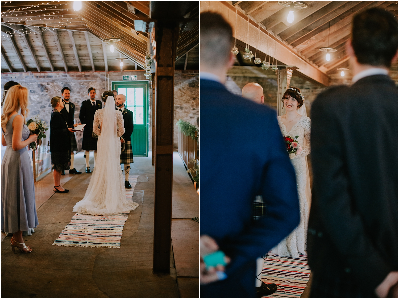 Documentary style wedding photographer in Scotland
