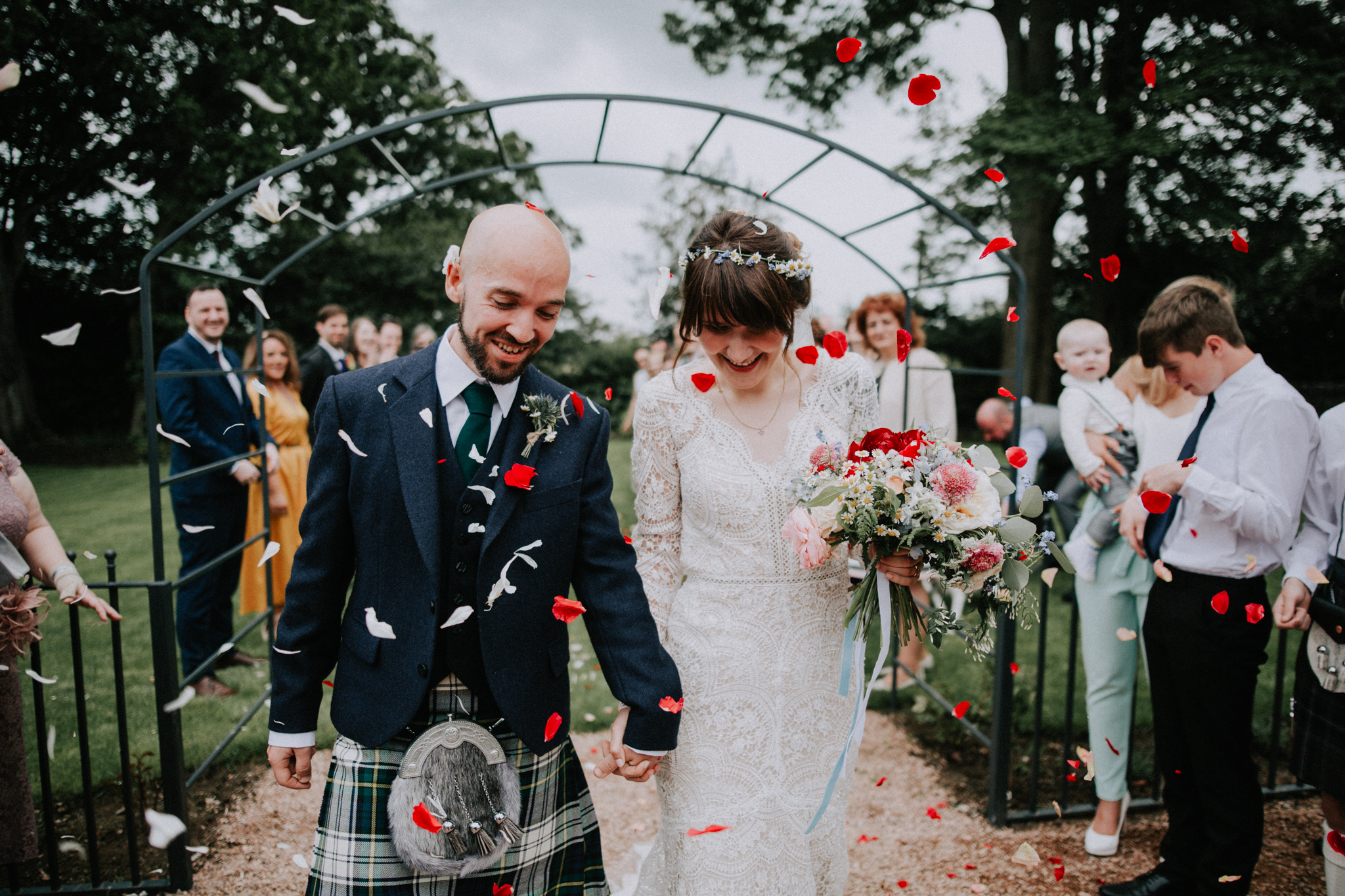 Natural, relaxed and creative wedding photographer in Scotland