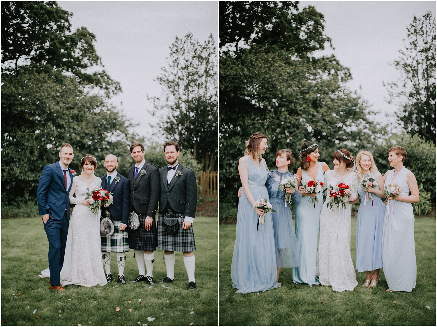 Boho style wedding in Scotland