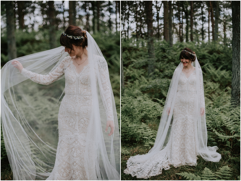 Creative wedding photography in Scotland