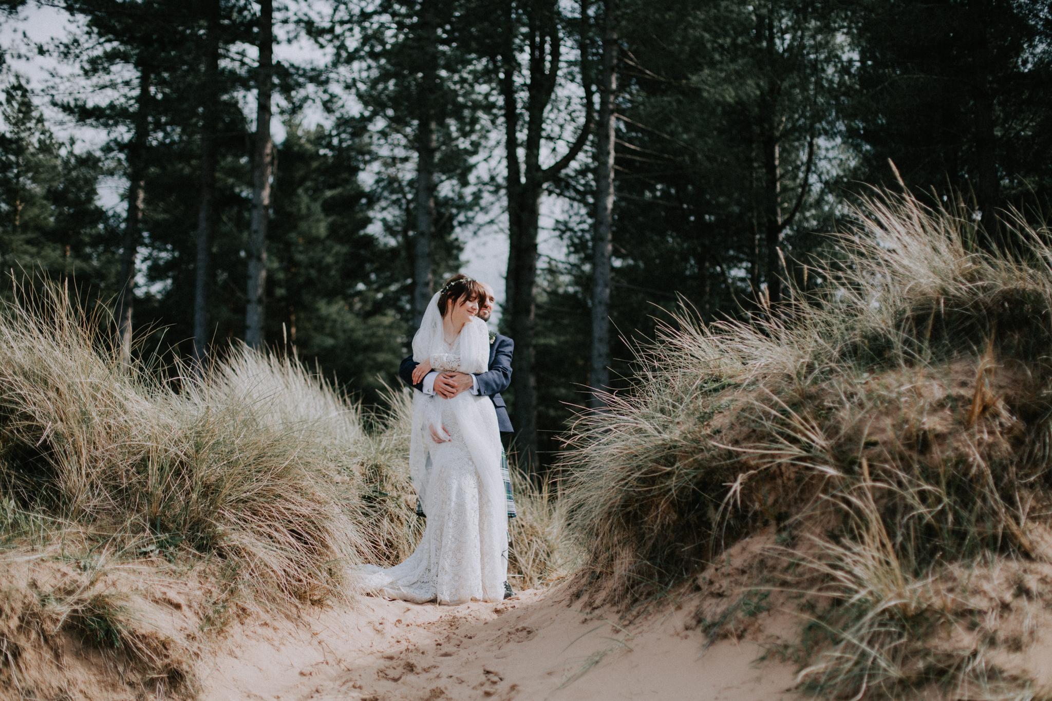 The best wedding photographer in Scotland