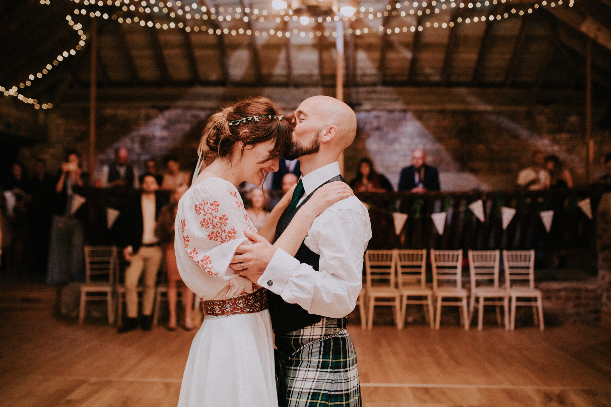 The first dance as a husband and wife