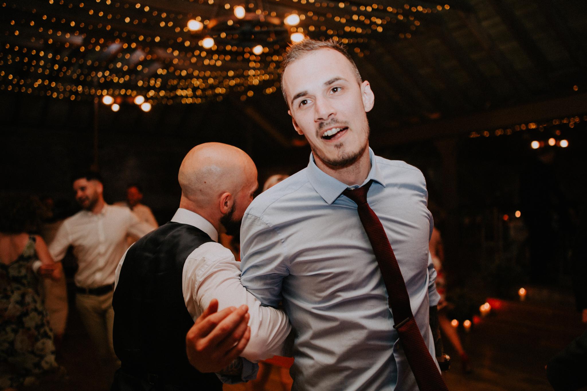 Active dancing shot
