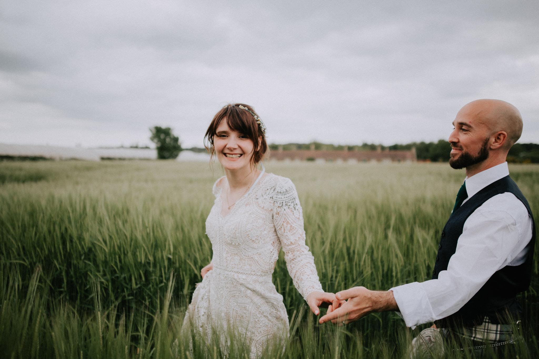 Creative wedding photographer in Dundee