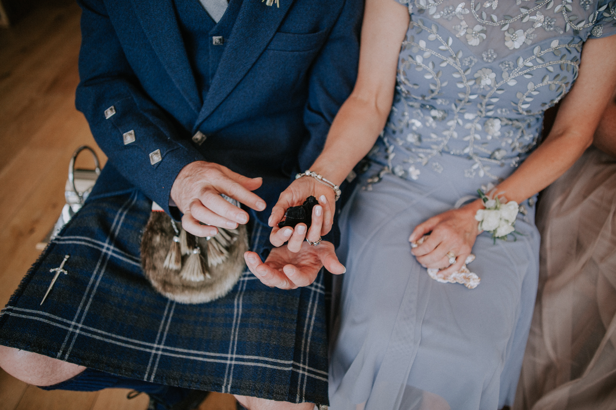 Natural and relaxed wedding photography at Altskeith Country House on Loch Ard in Scotland