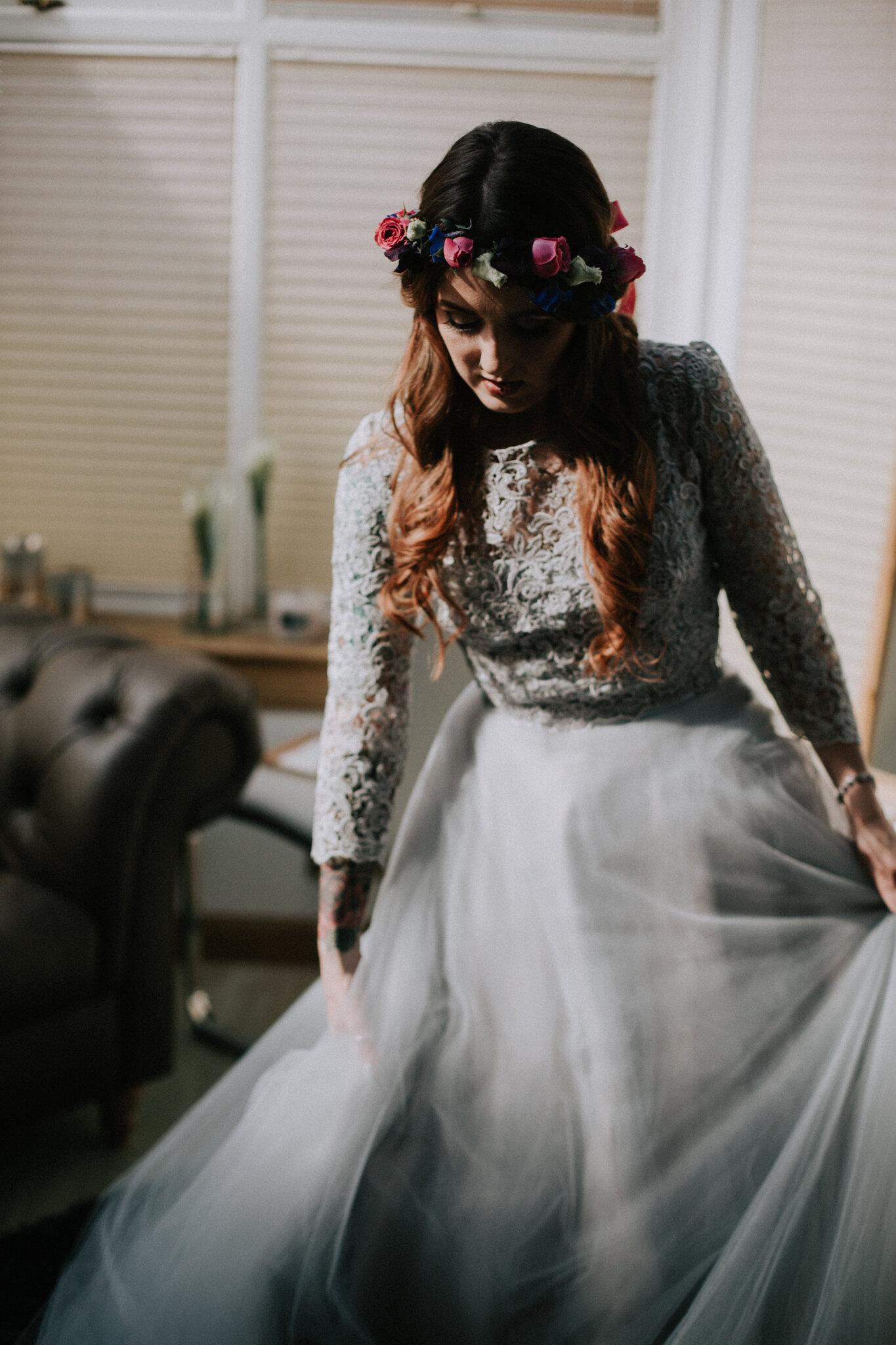 Bridal movement portrait