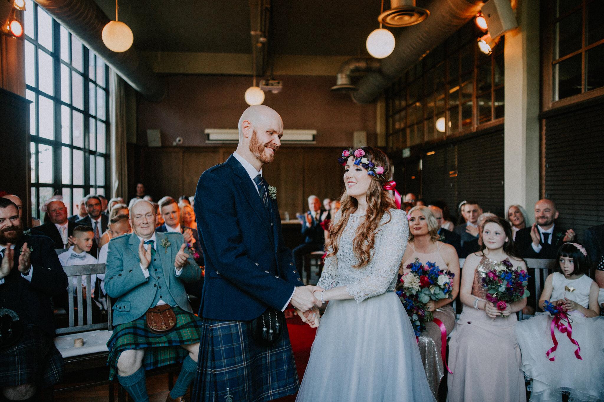 West on the Green Alternative wedding photographer
