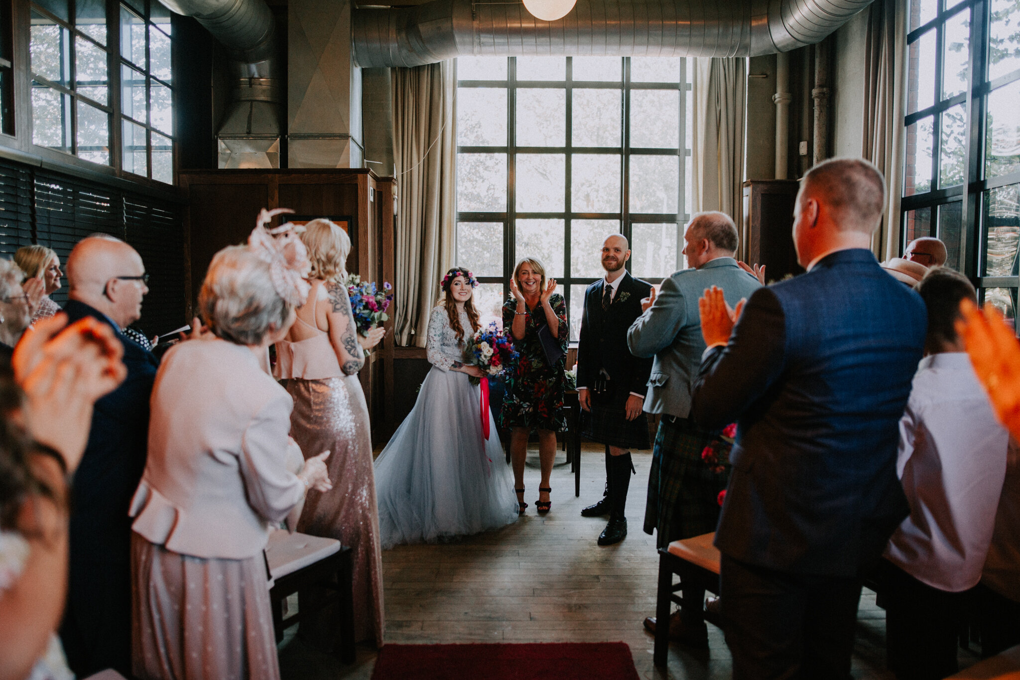 Alternative Glasgow wedding photographers