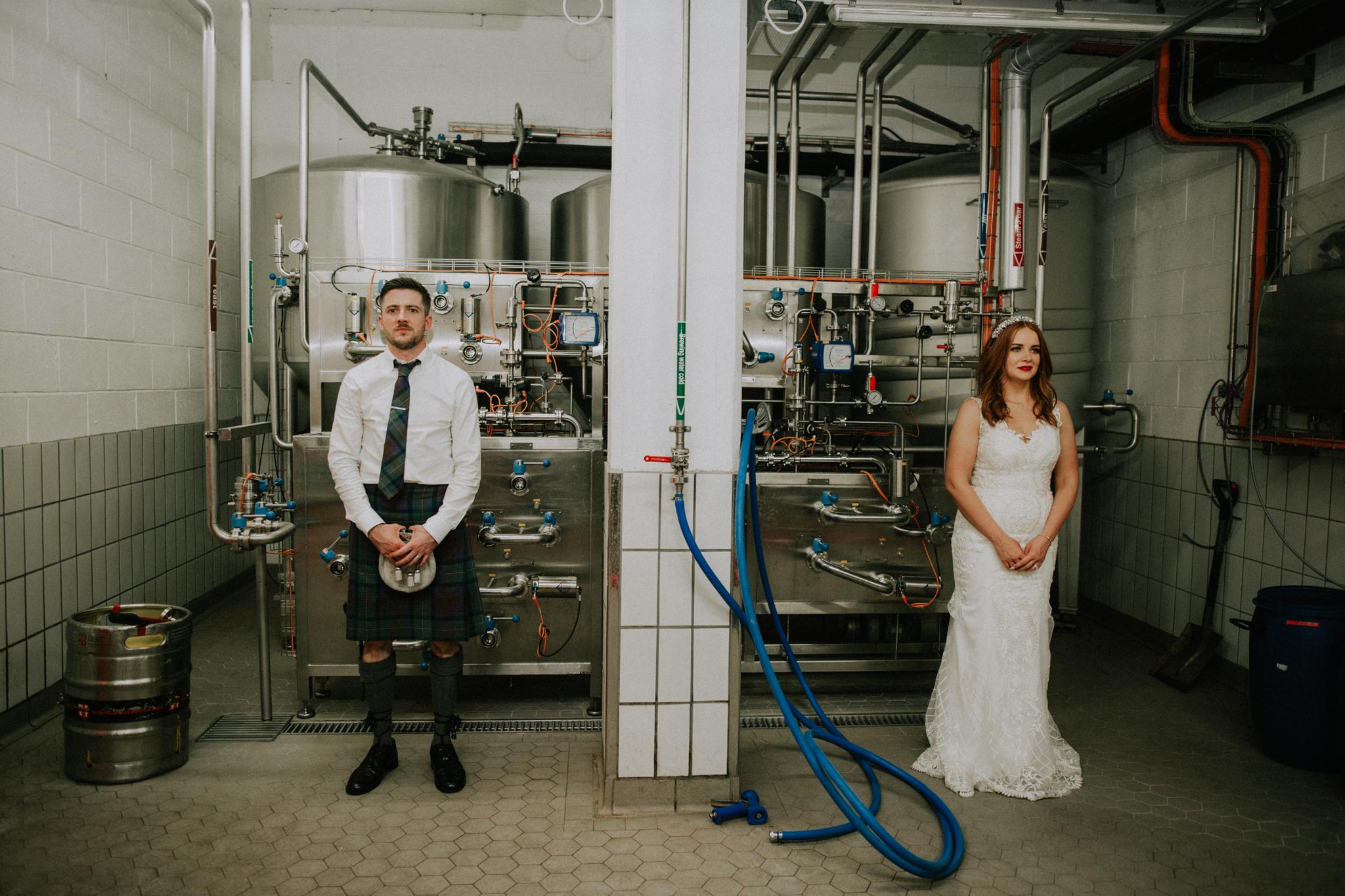 Creative wedding photographer in Scotland