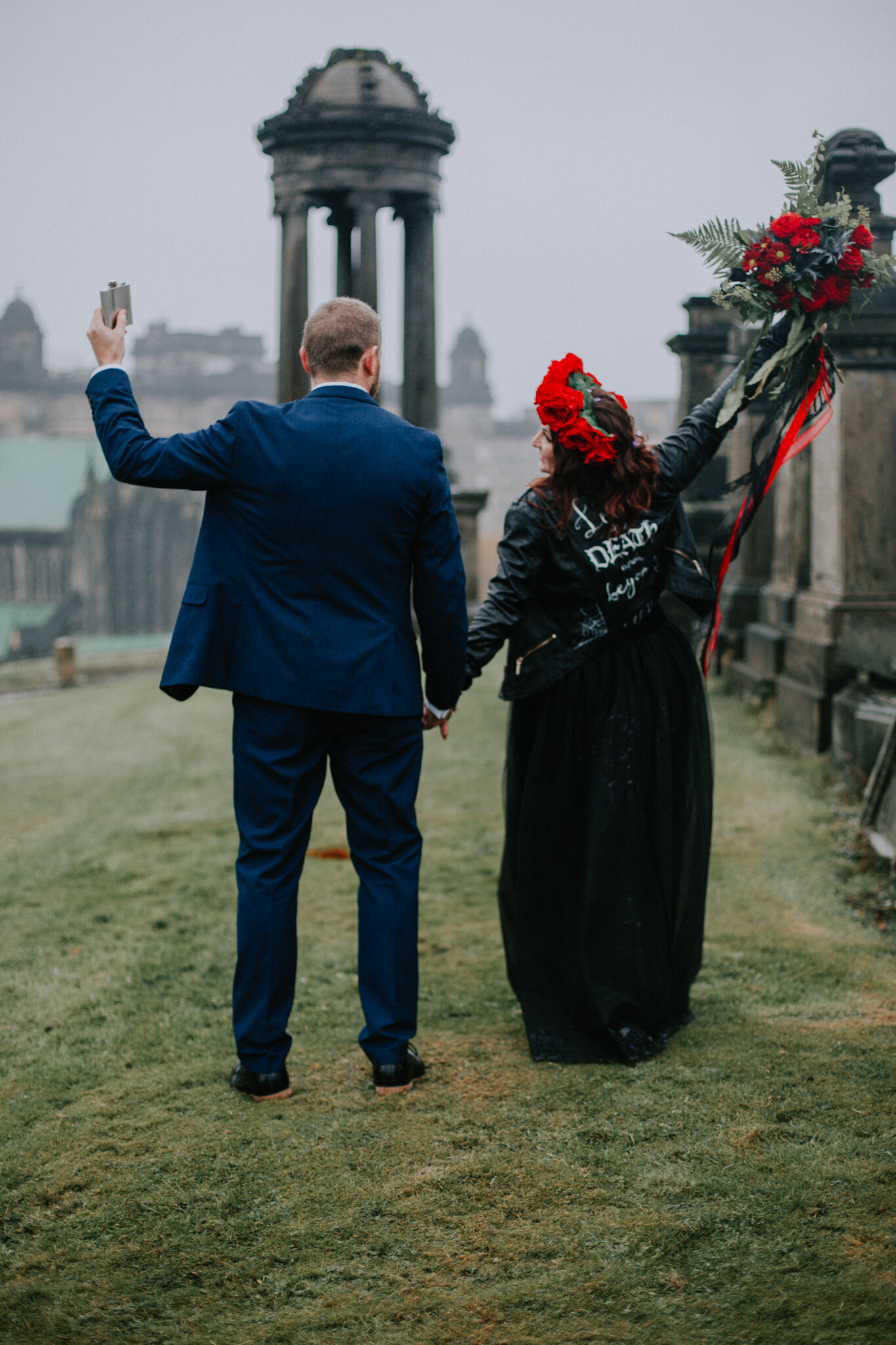 Alternative Quirky Halloween Glasgow City Wedding Photographer-J31A0915.jpg
