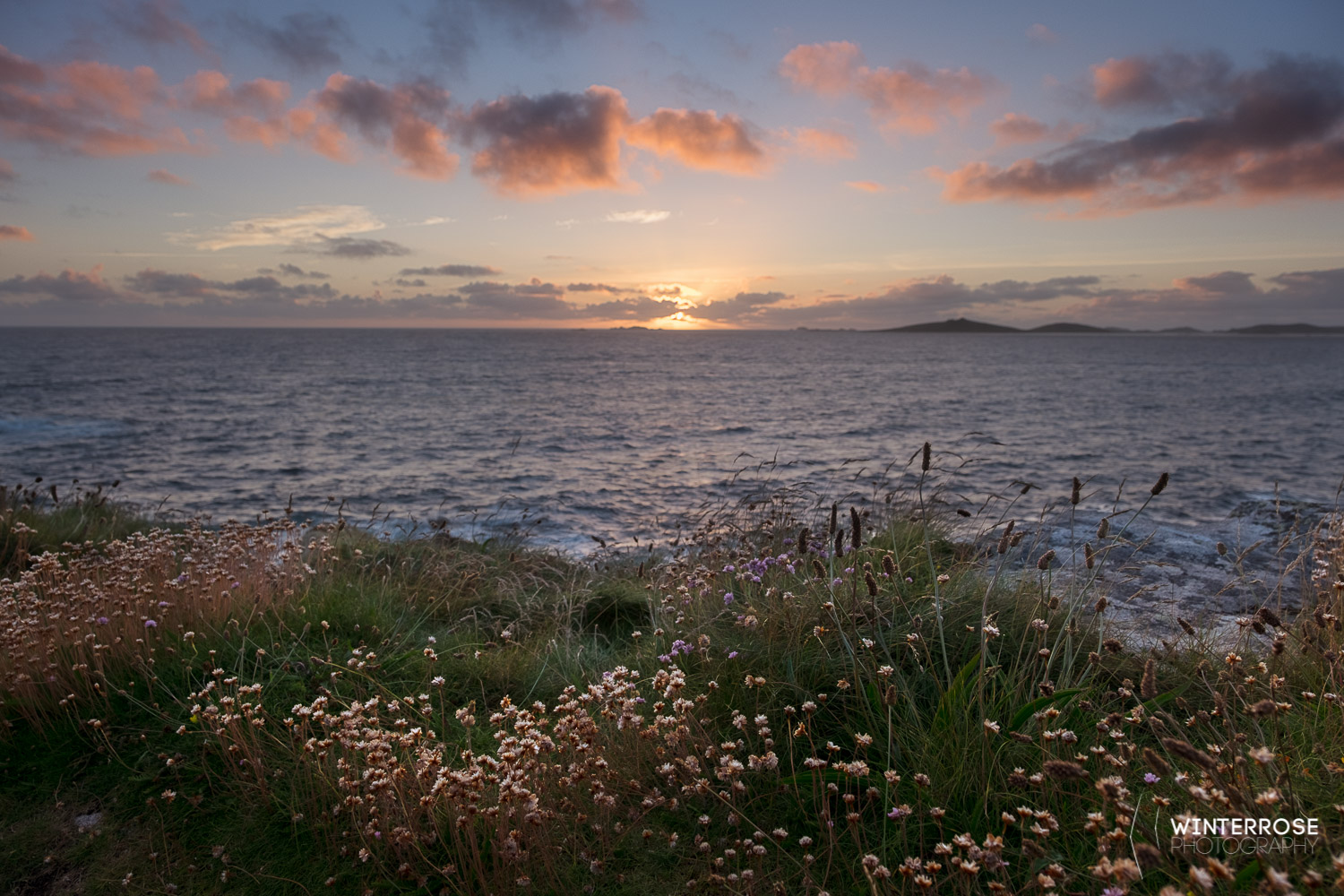 My first Isles of Scilly Sunset. You don't get these in Bedfordshire, and the strength of the light was incredible.