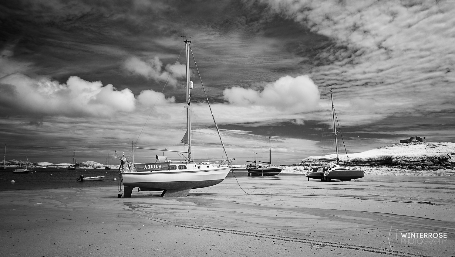 Boats on the Beach at Tresco
