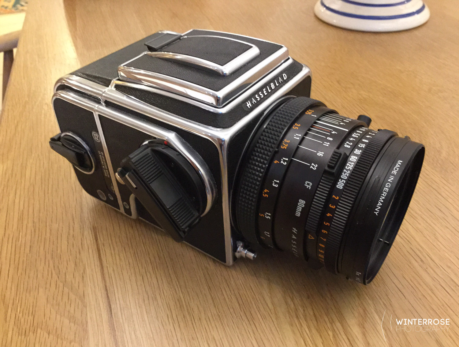 The Hasselblad 500CM and 80mm F2.8