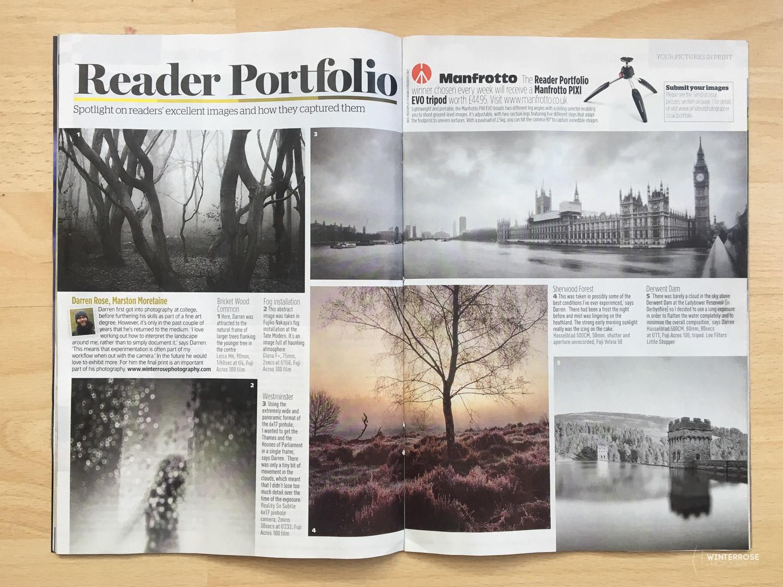 Readers Portfolio, Amateur Photographer Magazine.