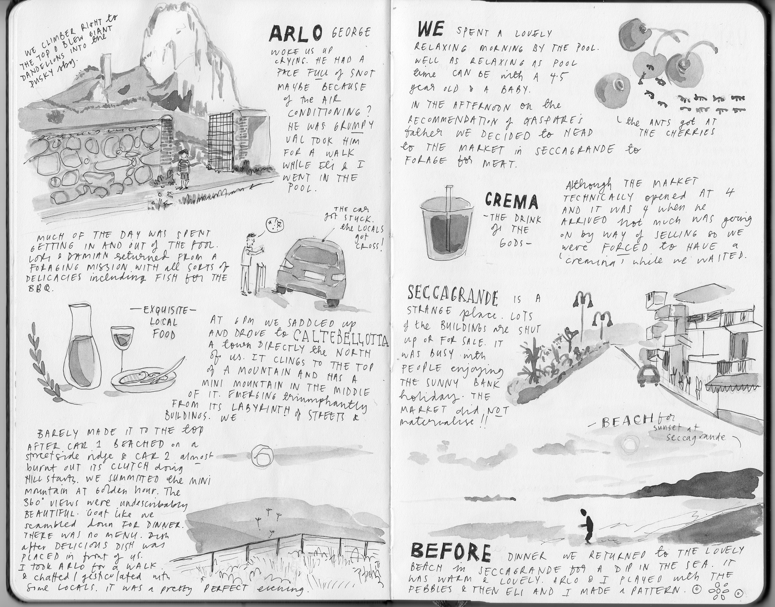 Illustrated Journal about Sicily 4