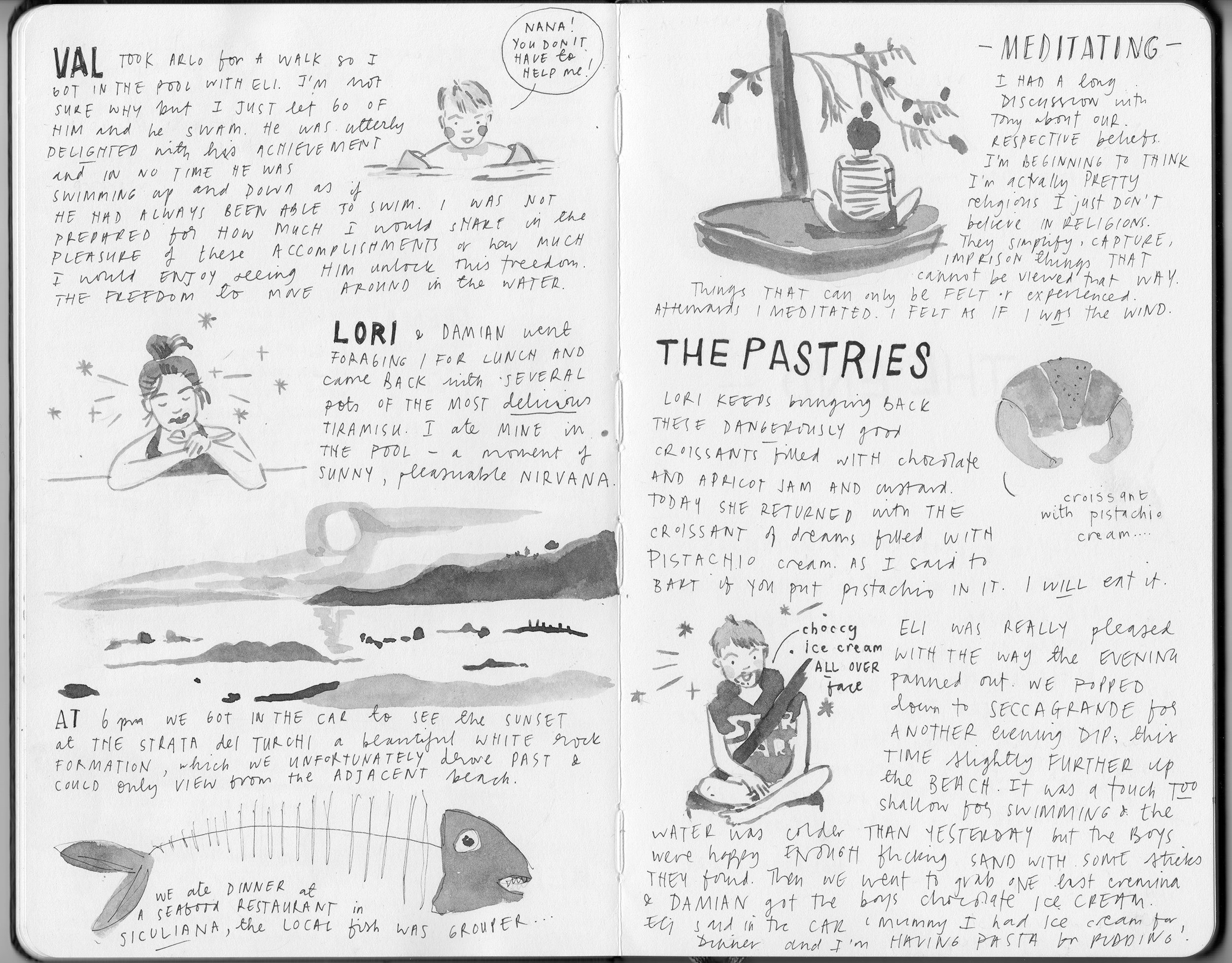 Illustrated Journal about Sicily 5