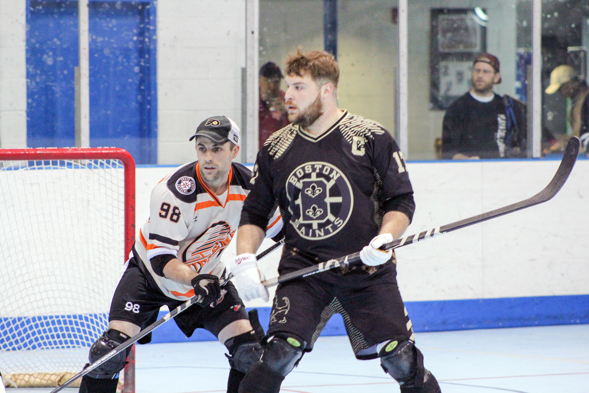 The Saints in action at the 2016 Cool Hockey North American Ball Hockey Championships in Philly (Pictures: Ricky T)