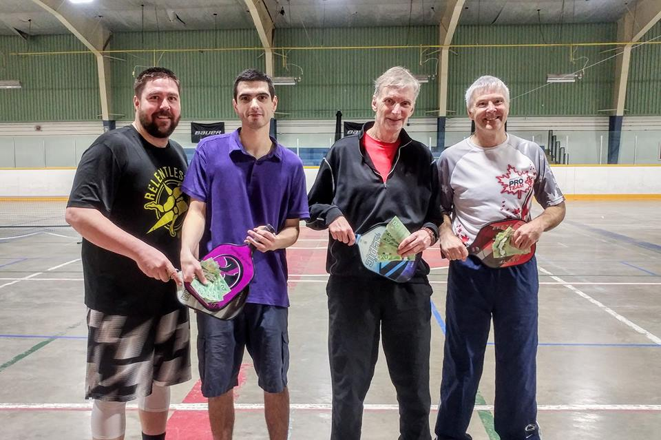 2nd Smash for Cash 4.0+ Event Finalists - Joe Mallette, Adam Eatock, John Sullivan and Terry Trueman with their winnings!