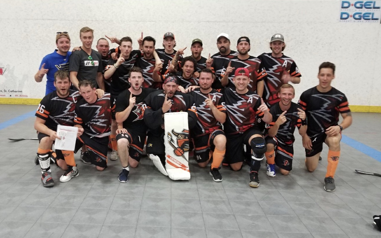 Hamilton Outlaws, Men's B/C Champions, Gateway to the World Outdoor Ball Hockey Champions