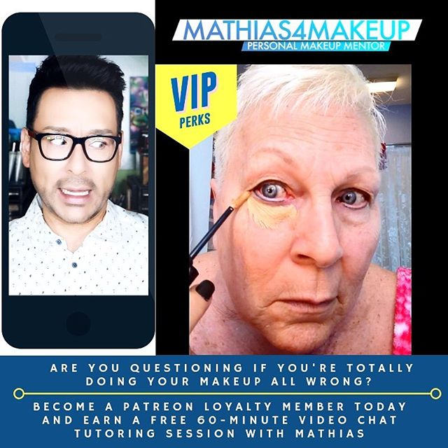 Are you constantly questioning if you're totally doing your makeup all wrong everytime you step in front of the mirror??? If so, you have over 700 video tutorials to catch up on over on my YouTube channel right here http://bit.ly/1pX0dBg. However what would be MOST BENEFICIAL for you is a personalized face to face lesson that will teach you how to use your own products and tools you already own like nothing else out there 💞🙏👨🏼‍🎨🎥💥🥰❤️💆🏻‍♀️🌈🎬 • Lucky for you I am the only Pro Makeup Artist in Hollywood on YouTube that offers private makeup lessons as well! I teach one on one personal makeup lessons in L.A. at my studio or face to face streaming live from home. • •  It's not hard to book me for a face to face video chat streaming lesson online. Please consider meeting with me for an hour or a series of sessions.  I can teach you one on one - privately in a personal makeup lesson face to face streaming live over video conference chat from home. I've sat with dozens of women and helped them learn new tips and tricks specifically for their own face shape by streaming in real time!!! Please check out my website link here explaining how you and I can work together in a step-by-step live video chat lesson from home and send me a private email from my website here http://bit.ly/2ITYHB4