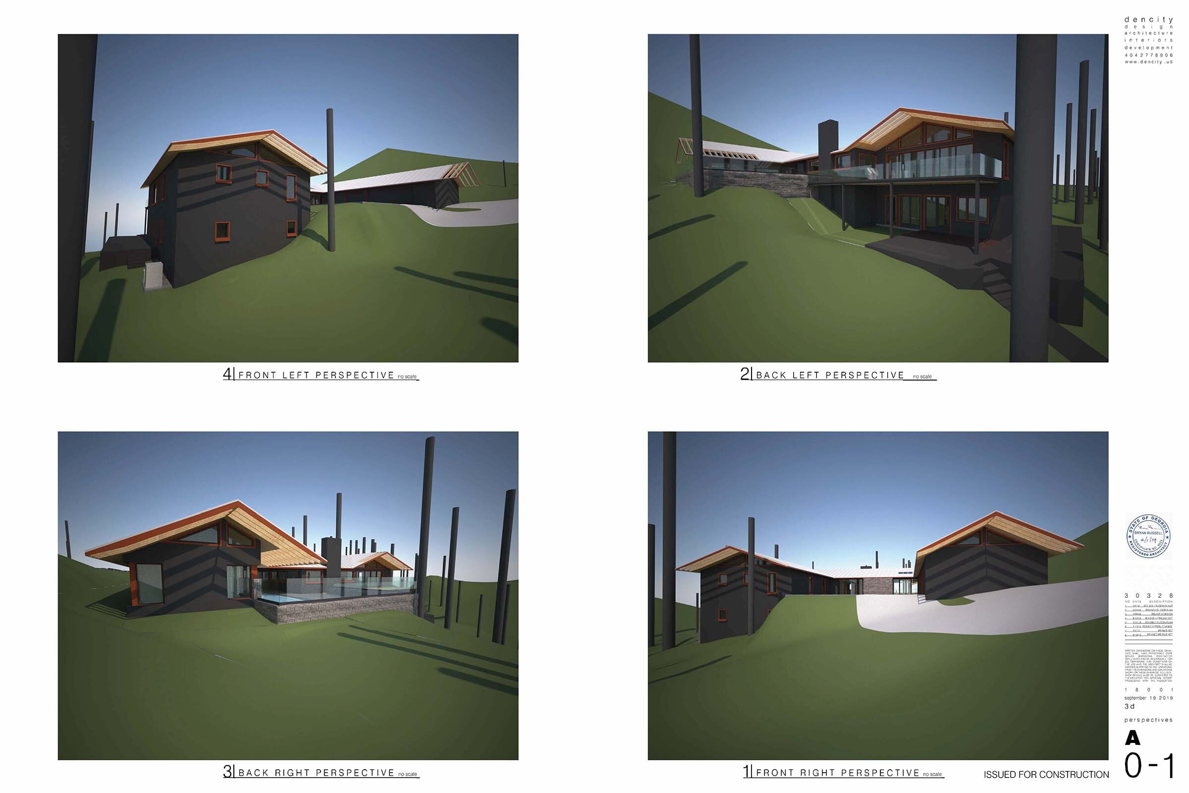 A sample of the modeling Dencity did for one of our clients.