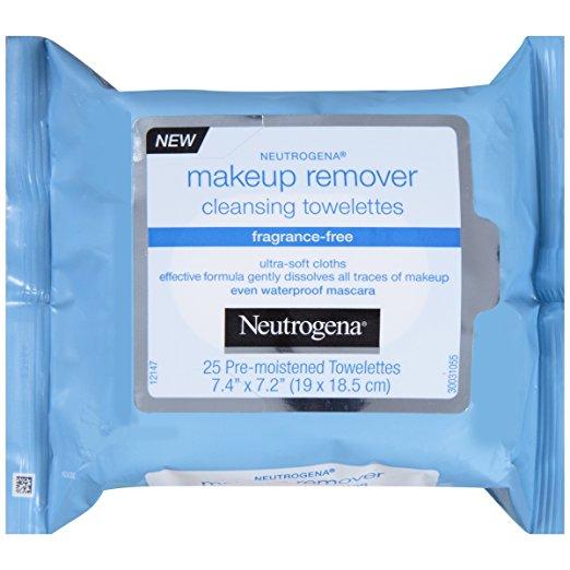 Neutrogena Makeup Remover Cleansing Towelettes  $4.47 Amazon