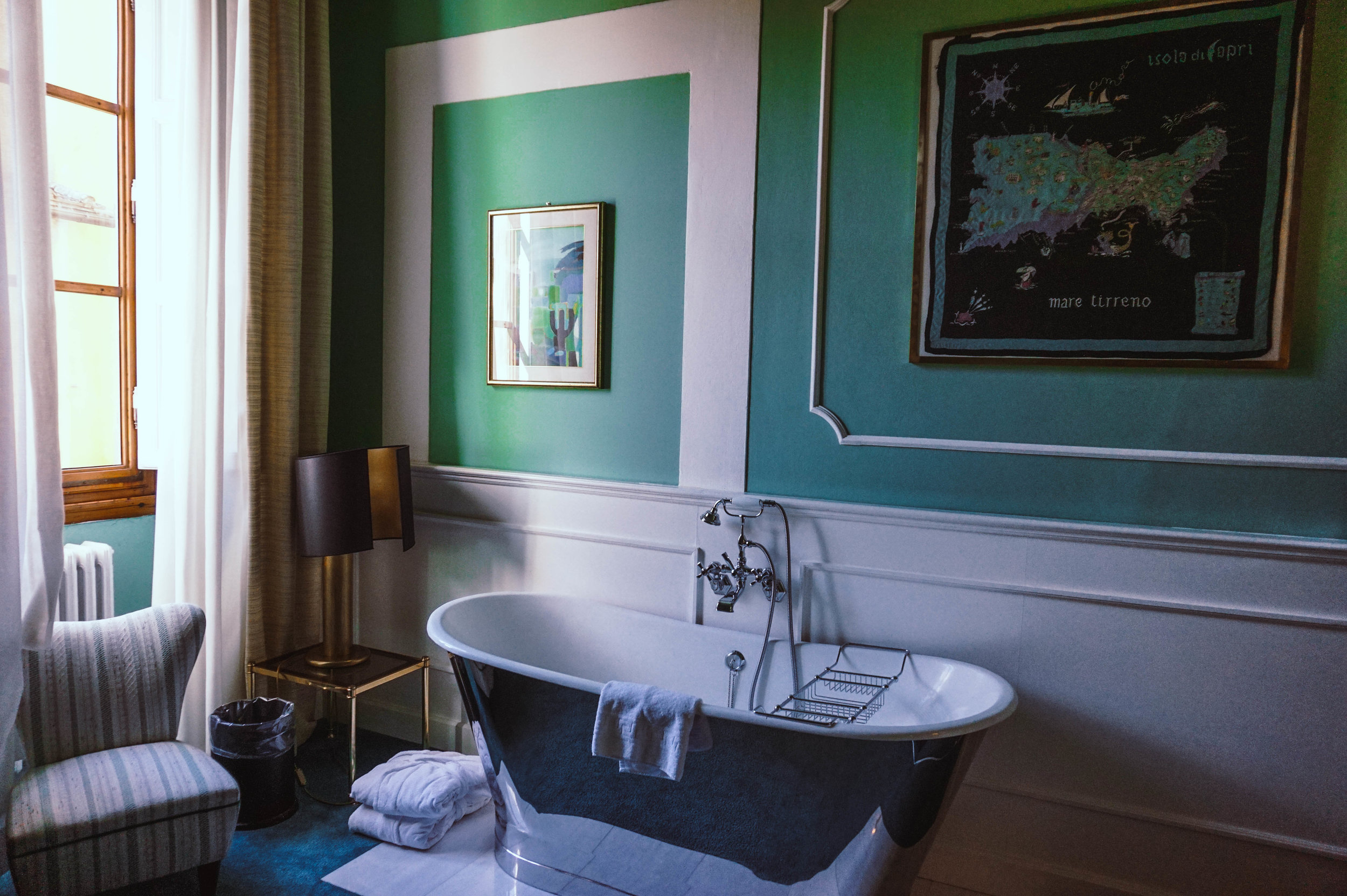 Our room at The Ad Astra Boutique Hotel in Florence