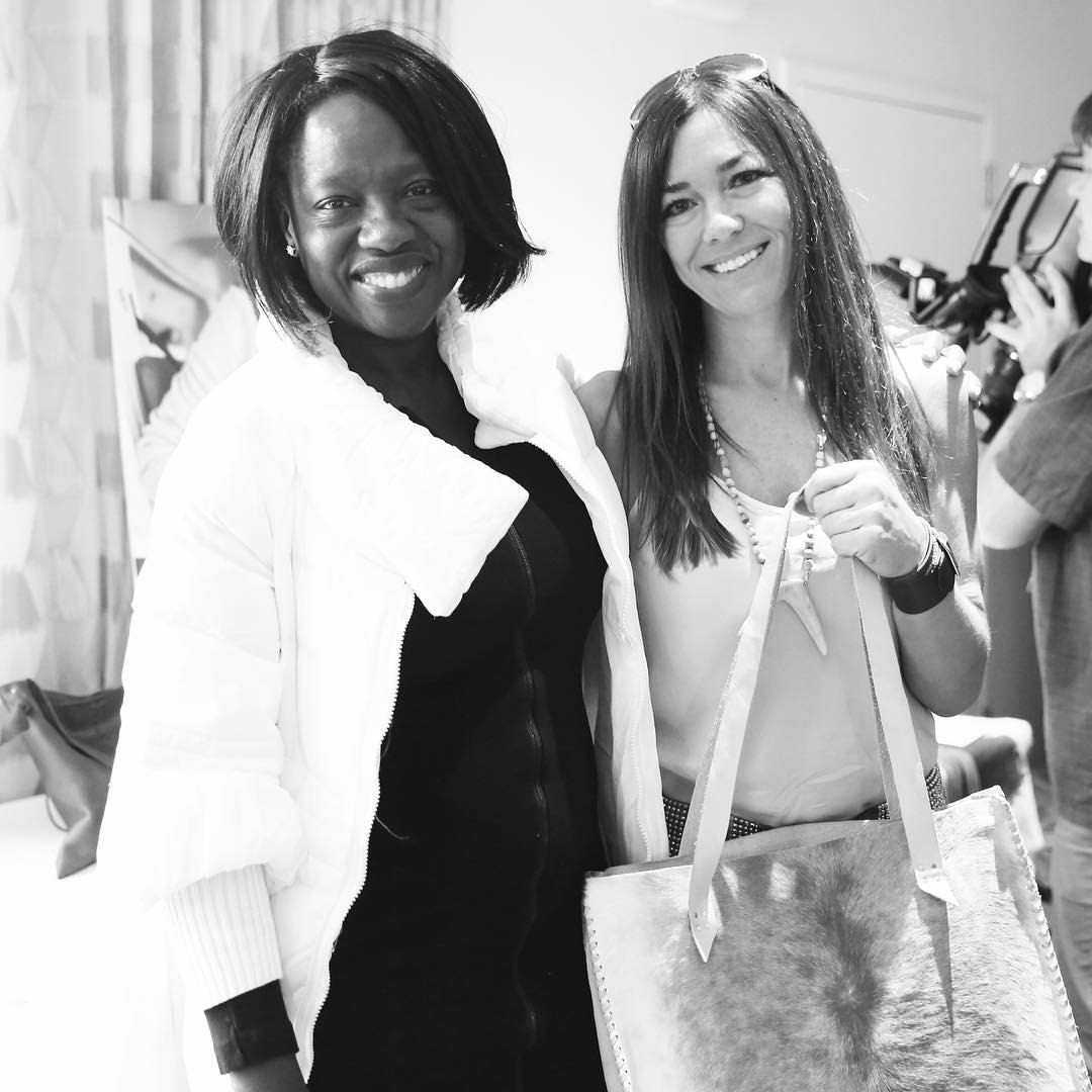 By Elly Jane Amy DiGregorio Viola Davis Leather bags
