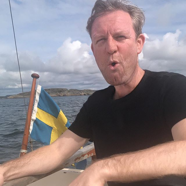 The year is 2077. I'm enjoying an intoxicating boat ride on Sweden's coast. I'm really looking forward to the lobster roll and espresso afterwords.