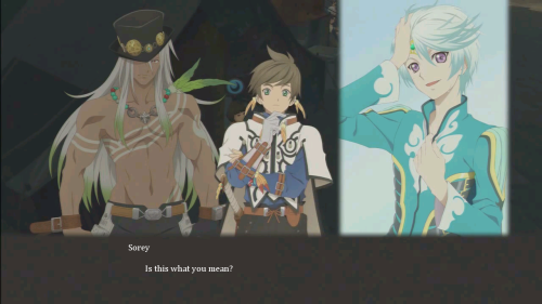 Zaveid is interested in looking at babes. Sorey is only interested in looking at Mikleo.