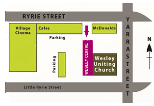 Wesley Centre Map.png