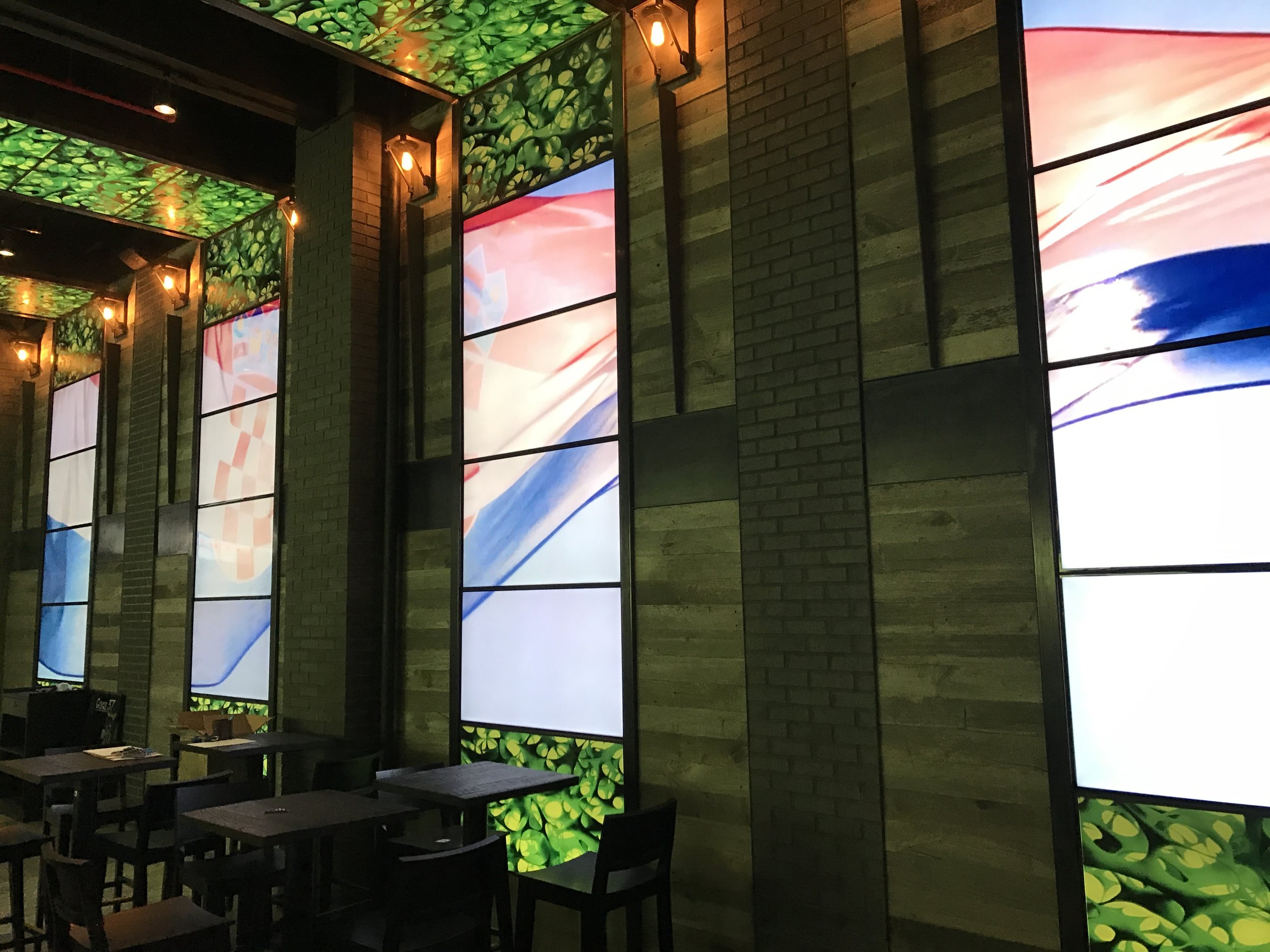 Video Wall System, Gogi37, New York
