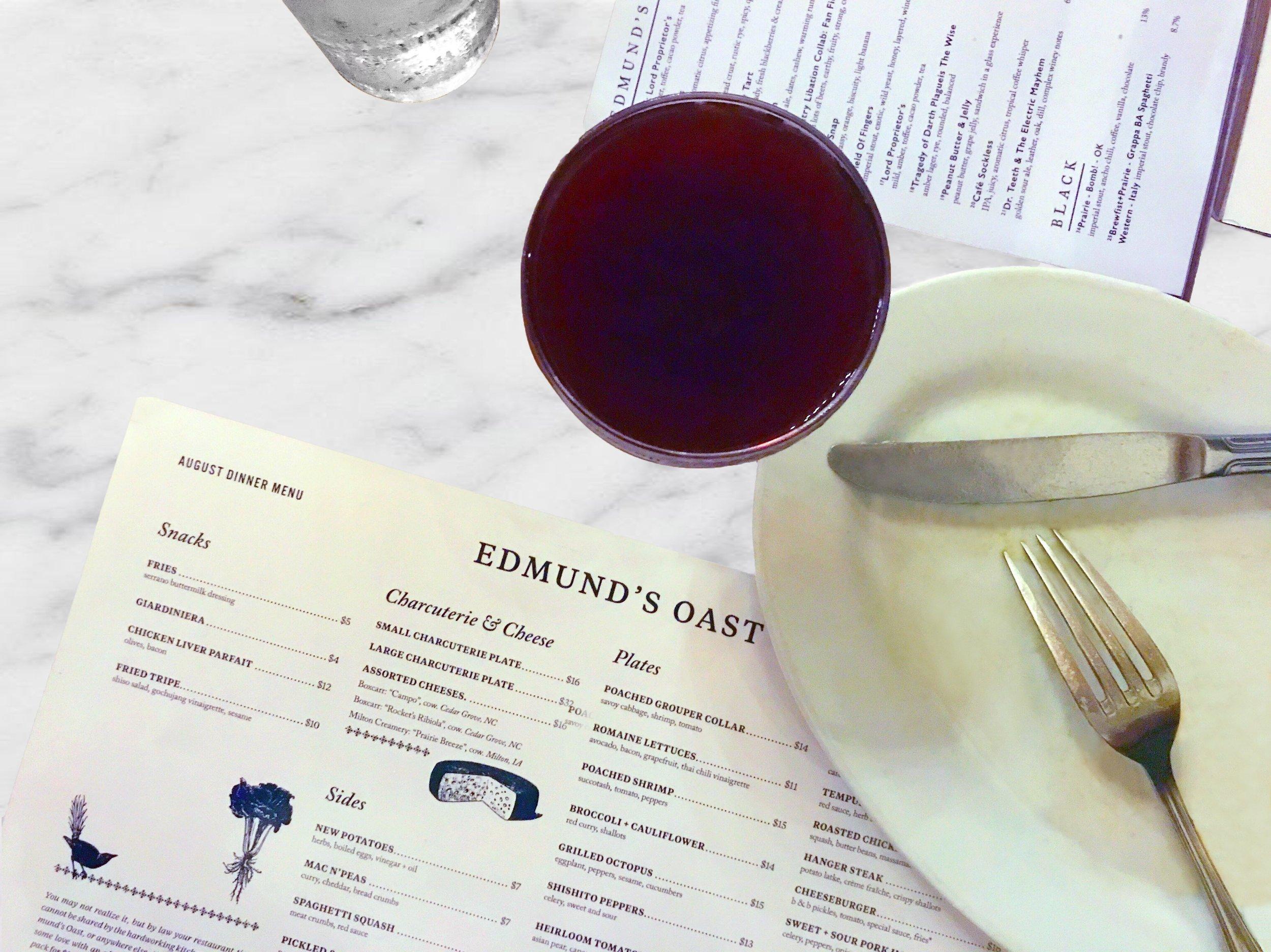edmund's oast charleston