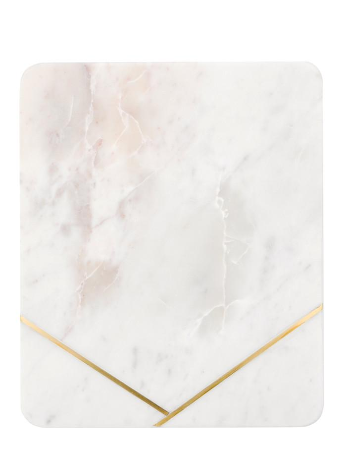 leif shop marble inlay platter
