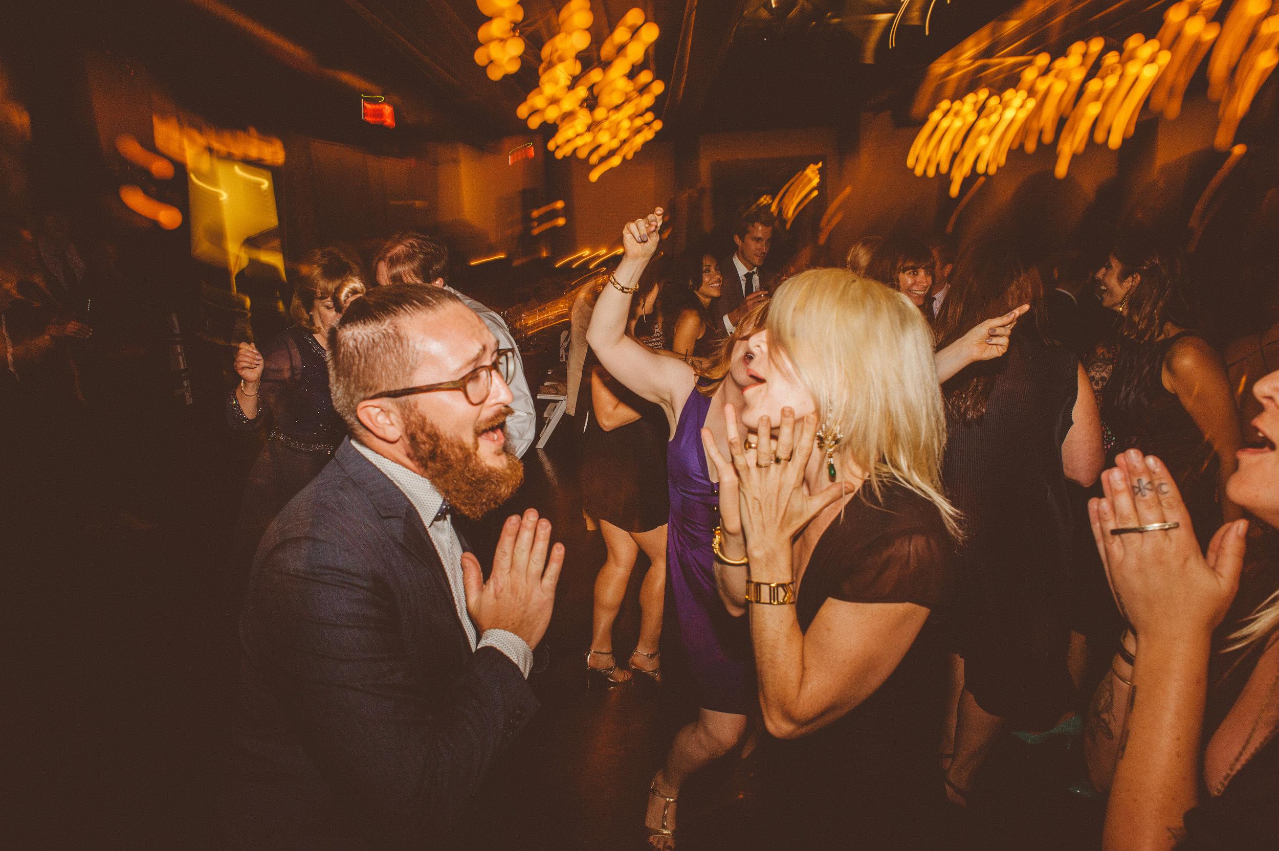 Jove taking a short dance break (he's got moves). photo by  Love + Wolves Co