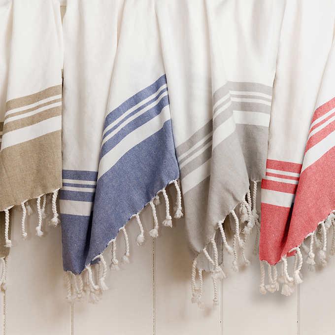 the turkish towel - A multipurpose home & fashion piece.