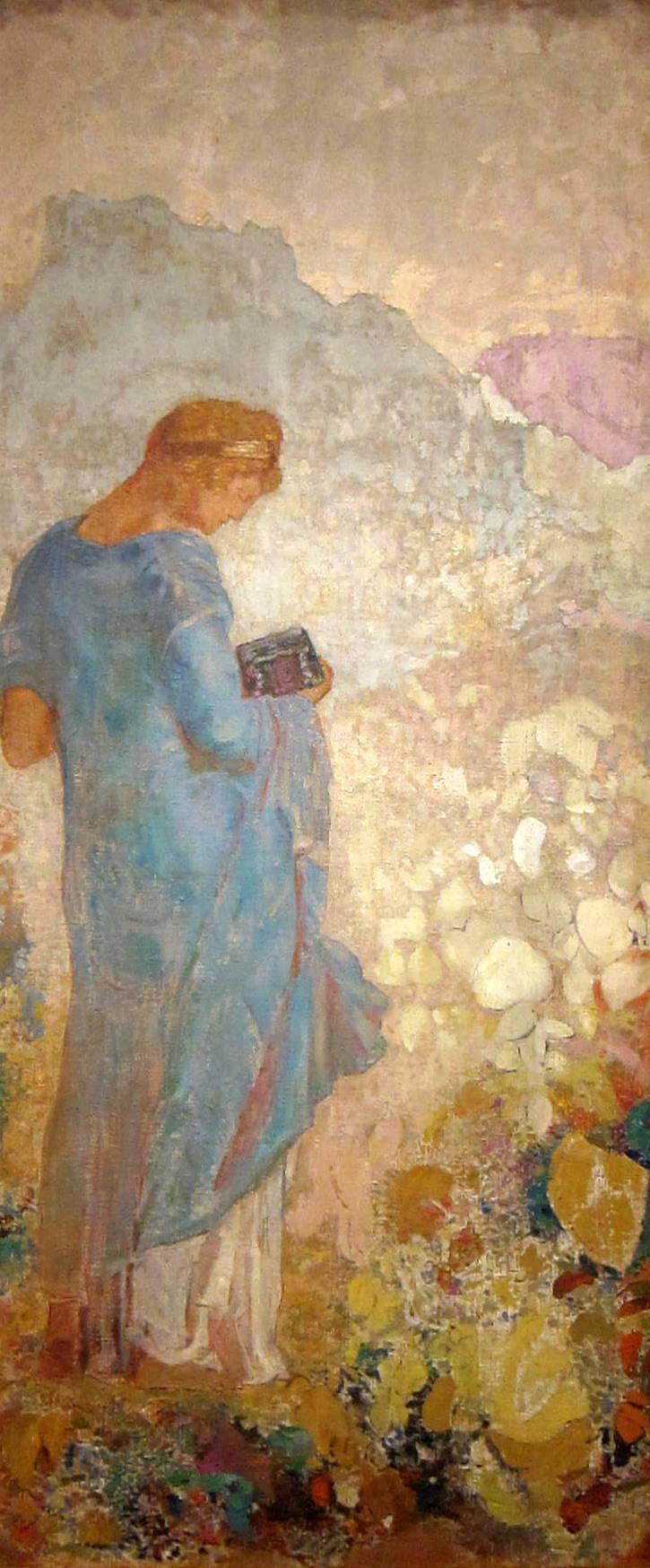 """Pandora"" by Odilon Redon (1914)"