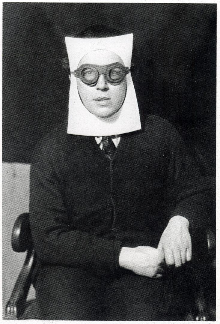 """Photo by Man Ray, """"Andre Breton"""" (1930)"""