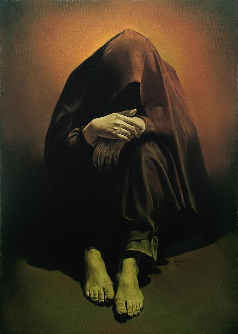 """""""Grief"""" by Mortexa Katouzian (1983)"""