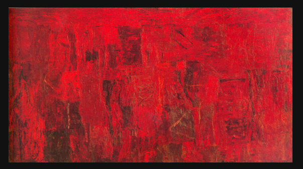 """""""Red Painting"""" by Philip Guston (1950)"""