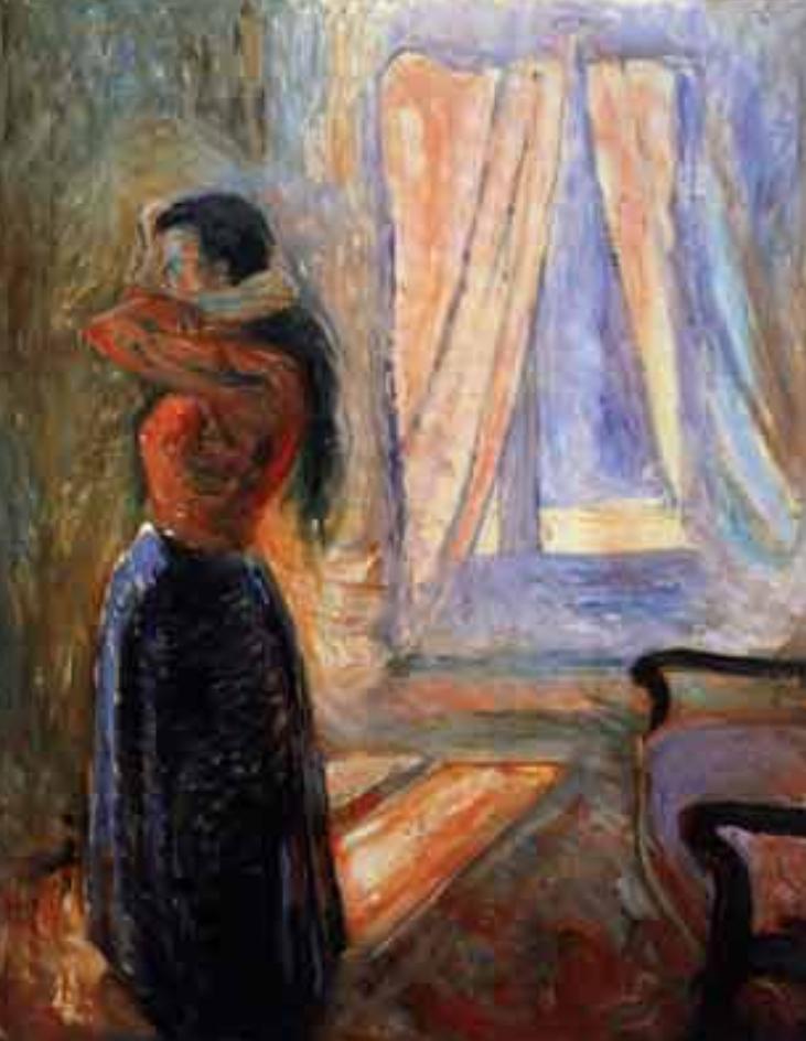Edvard Munch Femme á sa toilette , 1892.